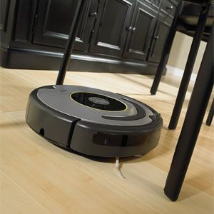 The iRobot® Roomba® 630 does the vacuuming for you. Roomba removes dirt, dust, and much more while automatically adjusting to clean carpets, hardwood, tile, and linoleum floors as it moves through your home. Roomba 630 has superior hair handling ability. $349.99