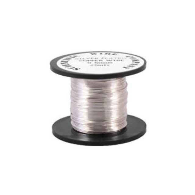 Copper Coloured Wire, Silver, Copper Wire, Coloured Wire, Silver Wire £3.25