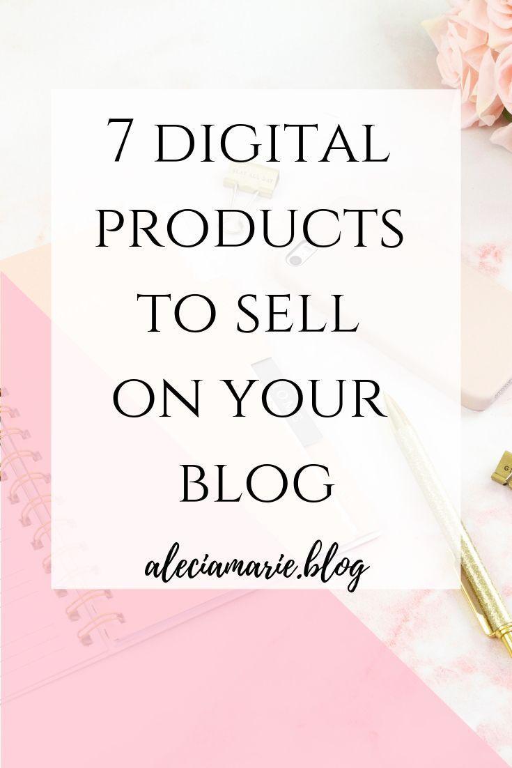 7 digitale Produkte für Ihren Blog – business, blogging, branding, marketing, entrepreneurship
