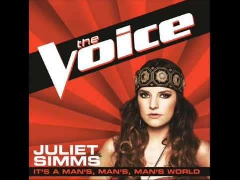 Juliet Simms - It's a Man's, Man's, Man's World (The Voice)