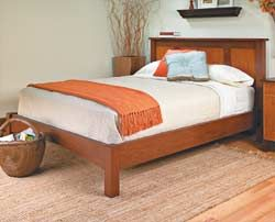 Free Platform Bed Plans Inspired By Pottery Barn Kids Fillmore Cut From Plywood And Customizable To Any Size Mattress Building Furniture