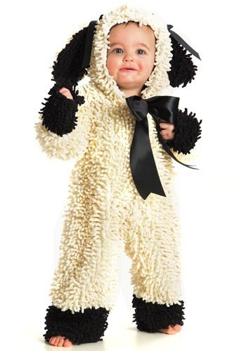 TOO CUTE! Toddler Wooly Lamb