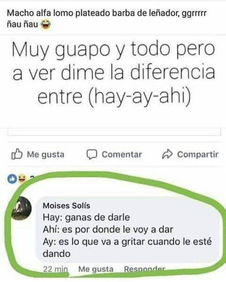Diferencia Entre Hay Ay Ahi El Humor Humor Memes