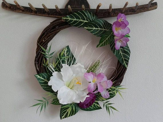 Check out this item in my Etsy shop https://www.etsy.com/listing/550322434/floral-wreathfront-door-wreathdoor