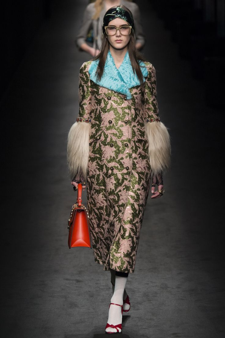 See every look from the Gucci Fall 2016 fashion show