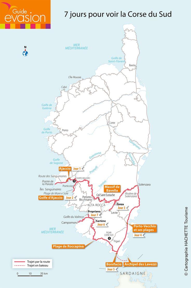 7 jours pour voir la Corse du Sud