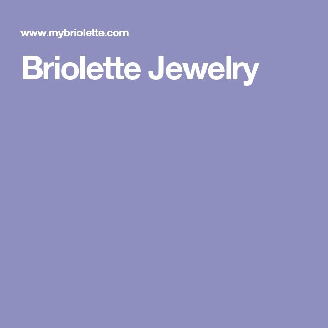 Briolette Jewelry