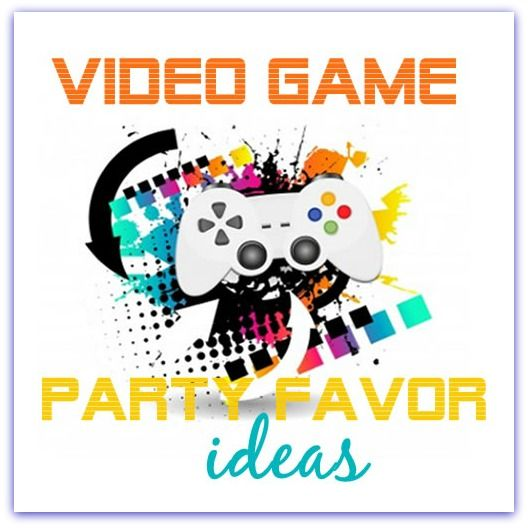 Come find some cool kids video game party favor ideas! Find everything from XBox, Wii & PlayStation.  Fun ideas for a kids party.