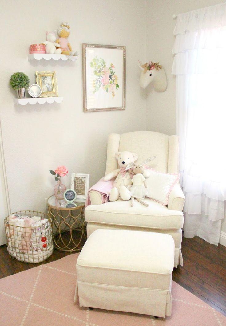 Baby Girl Nursery Glider - Sophistifunk
