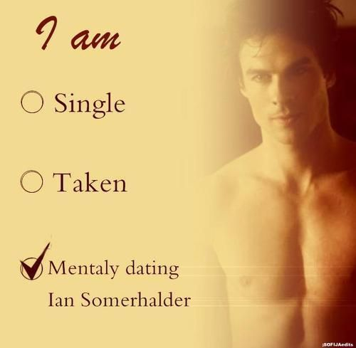 Damon Salvatore. More like mentally having an affair if we're going to be technical lol