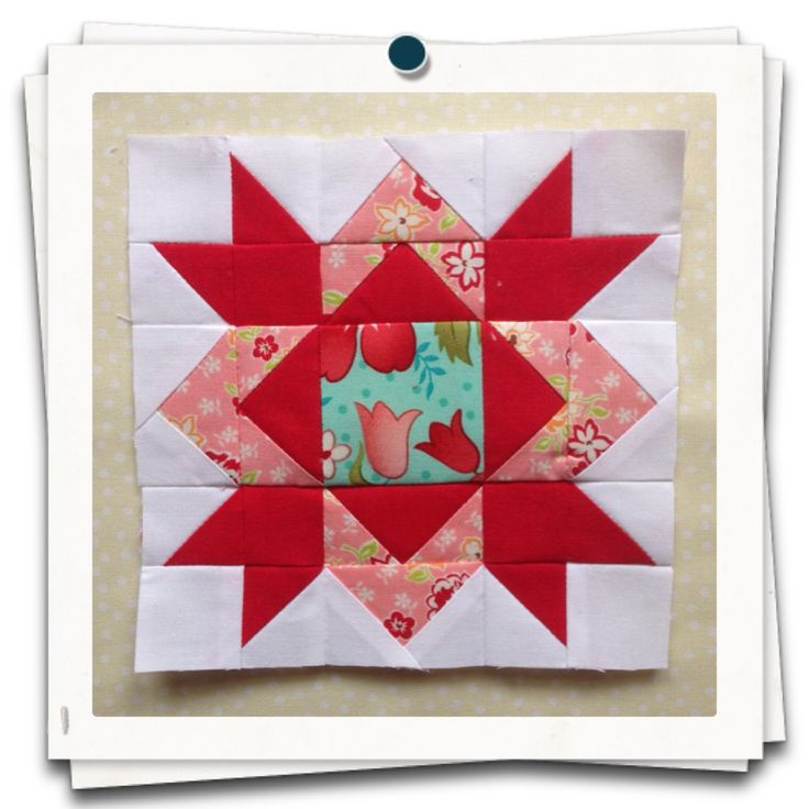 Diamond Star Quilt Block- Free Pattern quilting Pinterest Free pattern, Quilt and Stars