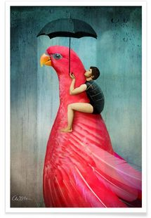 Under My Umbrella - Catrin Welz-Stein - Premium poster