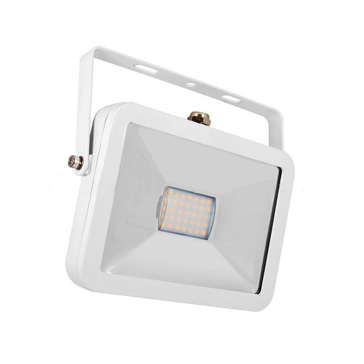 High-End fehér SMD LED reflektor 10Whelyettesíti a 75W halogént, fényáram 900lm, 120° sugárzási szög, IP65 védetség, 3 év garancia, Szállítás 48 órán belül