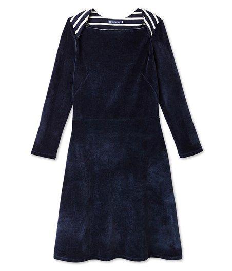 Robe femme en tubique ouatine