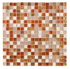 Accord Copper Bronze 15x15mm Mosaic