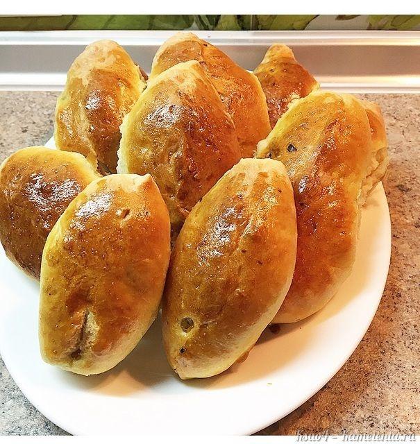 Рецепт пирожков с курицей и грибами