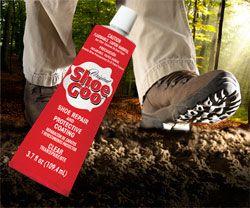 shoe goo for rubberized shoe soles