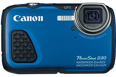The Canon Power Shot D30 waterproof camera is the perfect choice for the photographers who spent most of their time outdoors or passionate about the underwater photography, and like to shoot in such type of extreme situations.