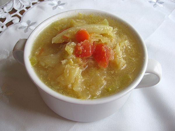 Traditional Russian Sour Cabbage Soup Recipe - Kislye Shchi Recipe