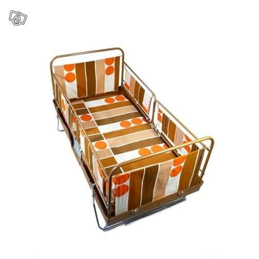 lit valise b b youpla do vintage 60 39 s ameublement ille et vilaine r tro. Black Bedroom Furniture Sets. Home Design Ideas
