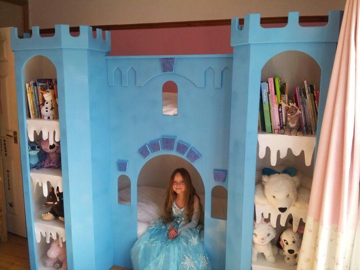 Elsa frozen bunk bed