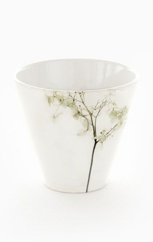 Green Coffe cup, Nordic Stories by scandinavian designer E.LEIJON - Nordic Design Collective