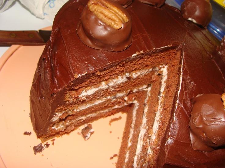 Bourbon Ball Torte | Desserts | Pinterest