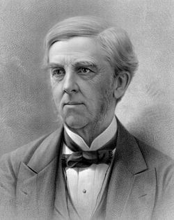 Oliver Wendell Holmes, 1809-1894, (U.S.) poet, novelist. The Autocrat of the Breakfast-Table.