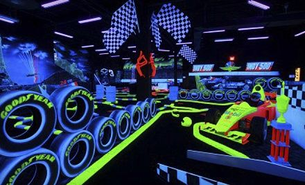 Groupon - $ 29 for 10 Laps of Indoor Go-Karting and 18-Holes of Mini-Golf for Two at 401 Mini-Indy Go-Karts ($ 60 Value). Groupon deal price: $29.00