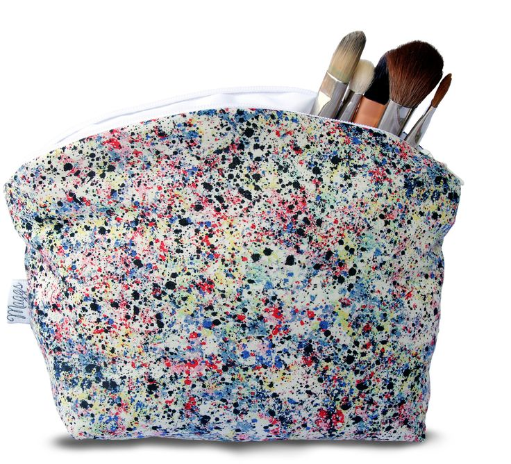 Beloved London handmade makeup bag by Hannah Maggs
