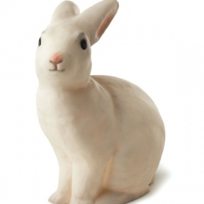 bunny lamp: Nightlight, Sweet, Animal Lamps, Kiddo, White Rabbit, Heico Lamp