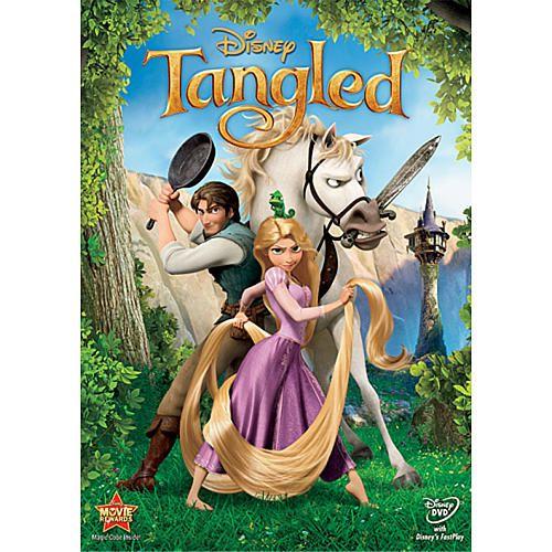 "Tangled DVD - Walt Disney Studios - Toys ""R"" Us"