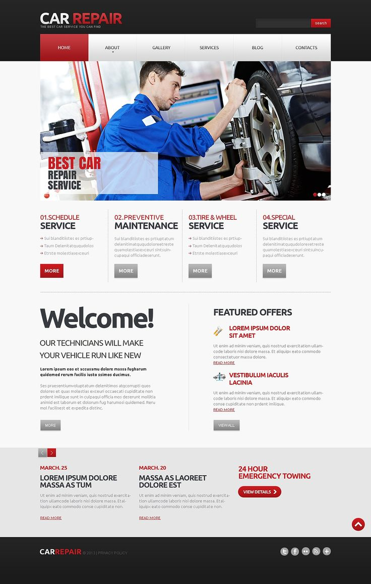 24 best Cars & Automotive Joomla Templates images on Pinterest ...