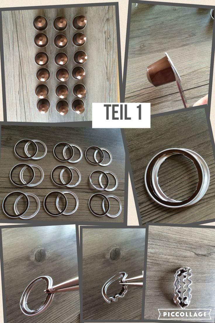 Bildanleitung Teil 1 Kapselkugel-Armband