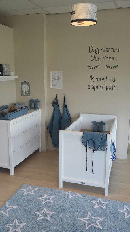 Bopita babykamer Corsica met complete @fabsworld inrichting. Te bewonderen en te koop bij Babyandmore.
