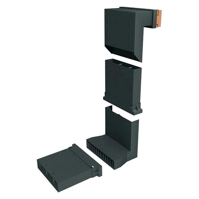 Wall Vent Deflector Extender Under Furniture Extension Sleeve For Telescopic Underfloor Void
