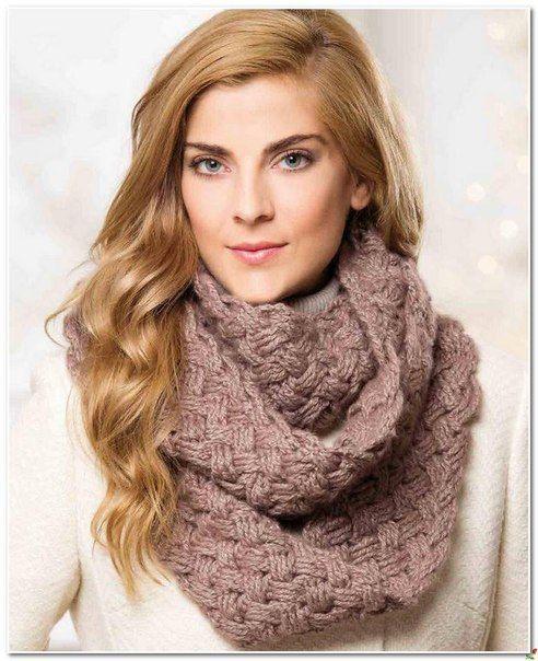 Узоры для вязания спицами для начинающих шарф