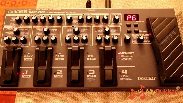 Boss ME-80 - Gitar Prosesör İncelemesi (Hızlı Video)