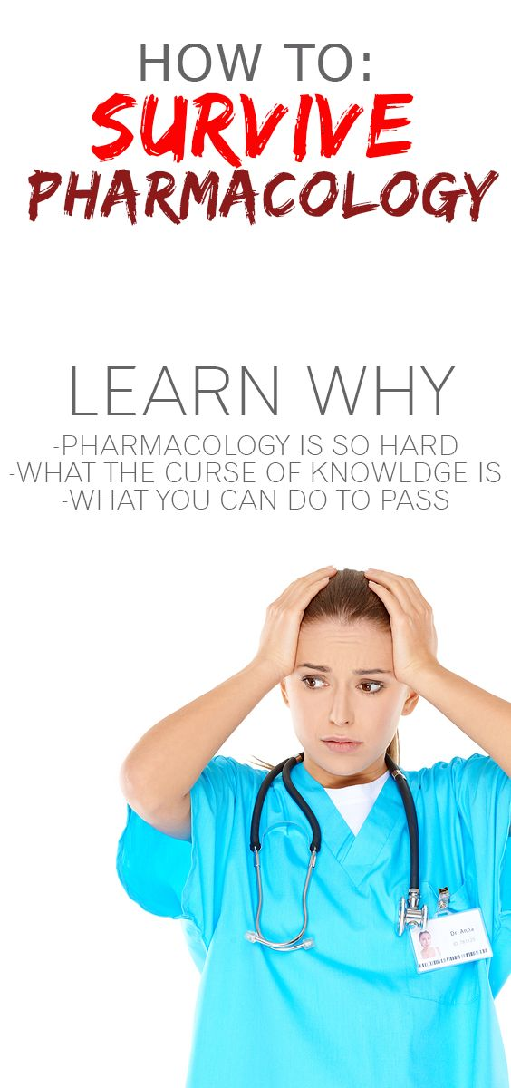One of the hardest things about nursing school is Pharmacology. Learn some tips on how to better prepare yourself for next semesters class!