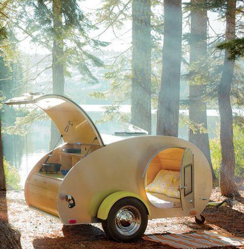 85 Plans with1425+ Photos Teardrop Camper Tear Drop Trailer Pop-Up Plans Micro                                                                                                                                                                                 More