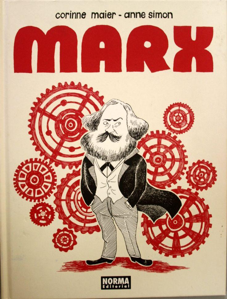 Marx : una biografía dibujada / Corinne Maier, Anne Simon. + info: https://comicparatodos.wordpress.com/2015/06/08/marx-una-biografia-dibujada-de-corinne-maier-y-anne-simon/