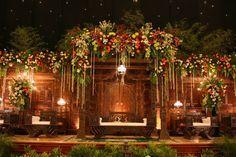 Javanese traditional wedding decorations