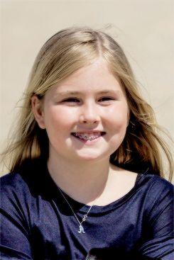 ready4royalty: Princess Amalia celebrates her 12th birthday, December 7, 2015 (b. December 7, 2003)