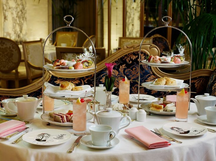 kids in fancy hotels | Decadent Afternoon Tea Spots That ...