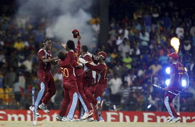 World T20 cricket: West Indies beat Sri Lanka in final