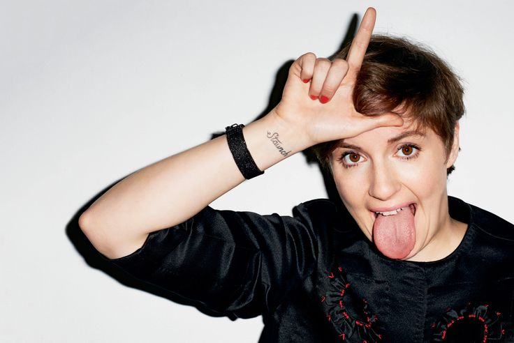 V MAGAZINE / GIRL POWER:  Lena Dunham  #staunch