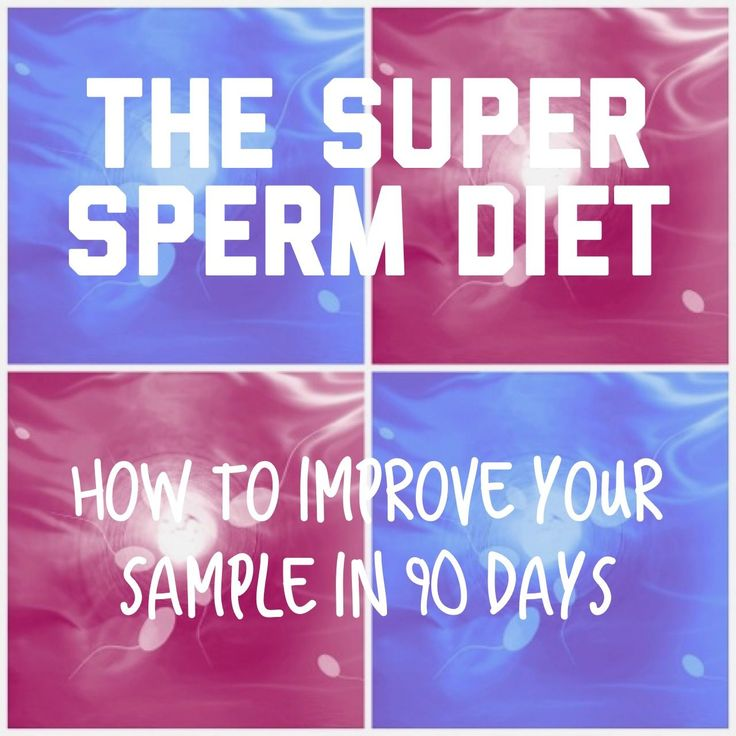 THE SUPER SPERM DIET: THE FASTEST WAY TO IMPROVE SEMEN QUALITY (EVEN MORPHOLOGY). http://wp.me/p5DlUc-Qz