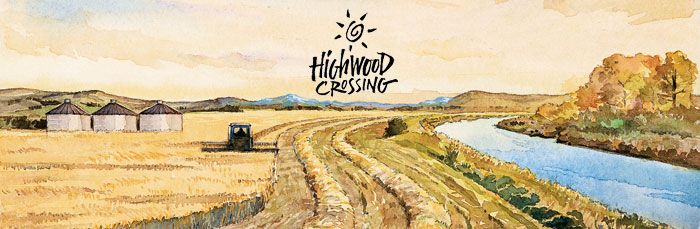 Highwood Crossing Cold Pressed Canola Oil.  Great local alternative to olive oil for bread dipping or drizzled over vegetables.