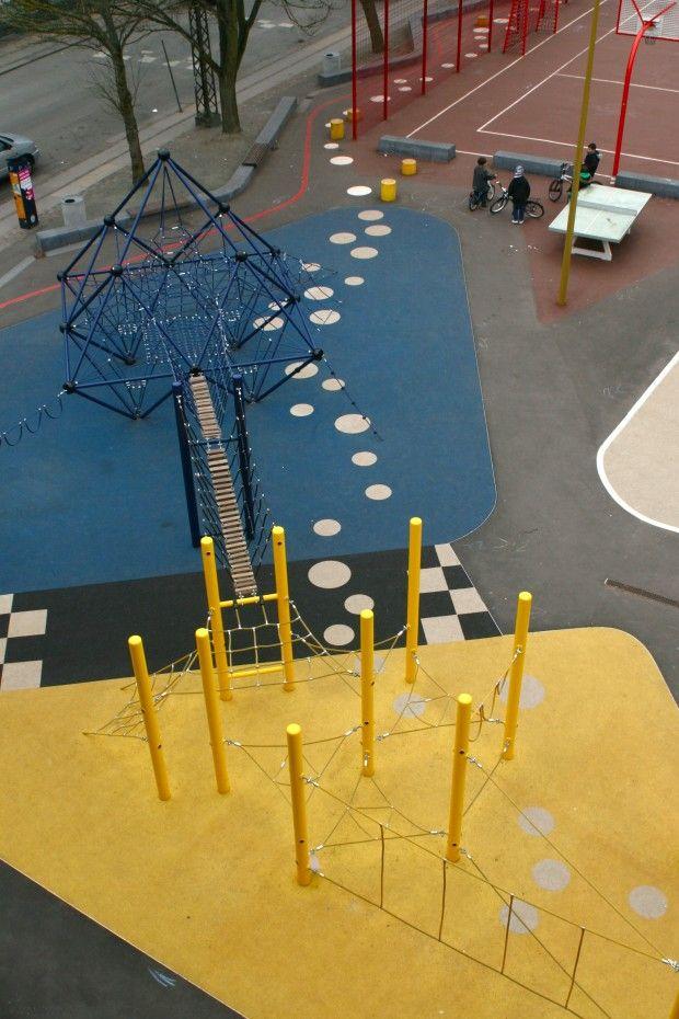 Guldberg skole legeplads 3
