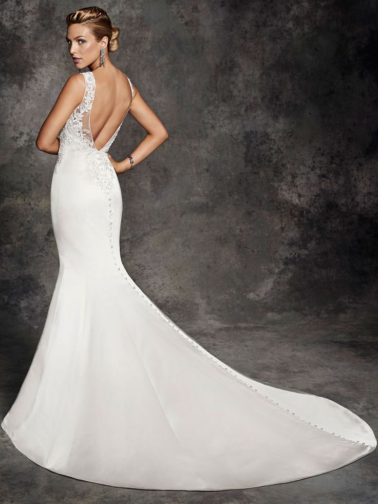Style be256 bridal gowns wedding dresses ella for Private label wedding dress